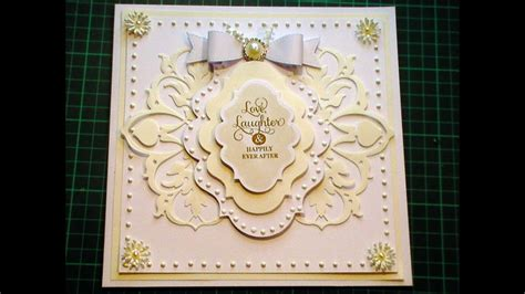 cardmaking tutorial ivory white anna griffin
