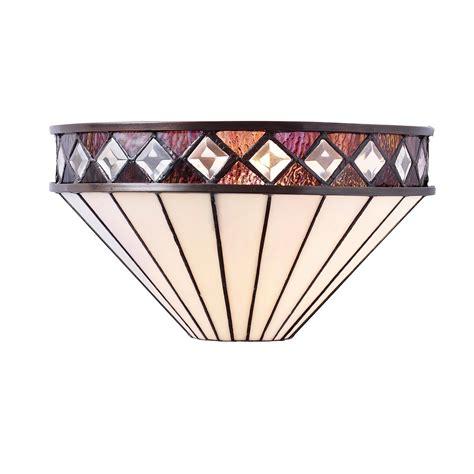 fargo 64149 tiffany wall light lighting bug swindon