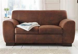 Couch Home Affaire : home affaire sofa nika 2 oder 3 sitzer in microfaser ~ Lateststills.com Haus und Dekorationen