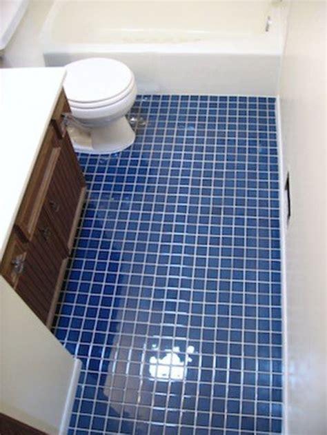 Blue Tile Bathroom Floor 35 cobalt blue bathroom floor tiles ideas and pictures