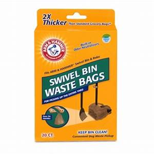 arm hammer 20 pack dog waste shovel bags home hardware With arm and hammer dog bags