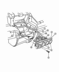 Chrysler Pt Cruiser Cable  Heater  Temperature Control