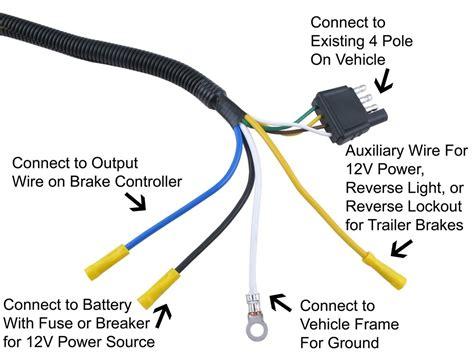 4 pin trailer connector wiring diagram wiring diagram