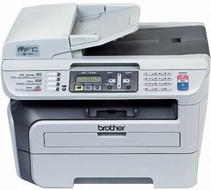 Brother mfc 7440n laser multi function center printing for Brother hl l2380dw document feeder