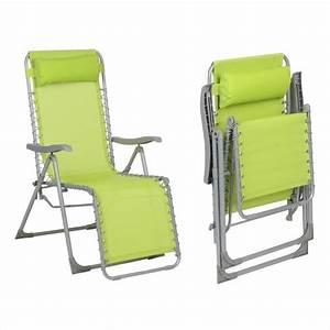 Chaise Relax Jardin : chaise de jardin verte commentaires relax jardin beautiful chaise longue jardin amazon chaise sofa ~ Teatrodelosmanantiales.com Idées de Décoration