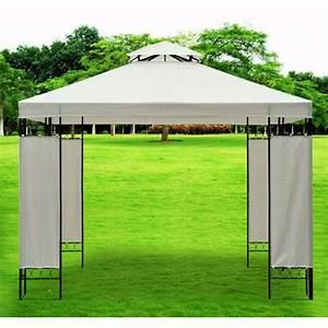 Toile Pour Tonnelle 3x3 : bache pour tonnelle de jardin ~ Melissatoandfro.com Idées de Décoration