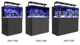 designer aquarien sea max s series fully featured reef spec reef aquariums