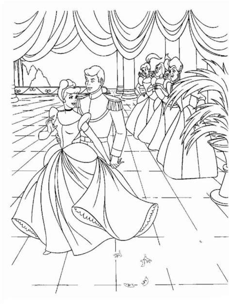 disegni da colorare  cenerentola la storia  una