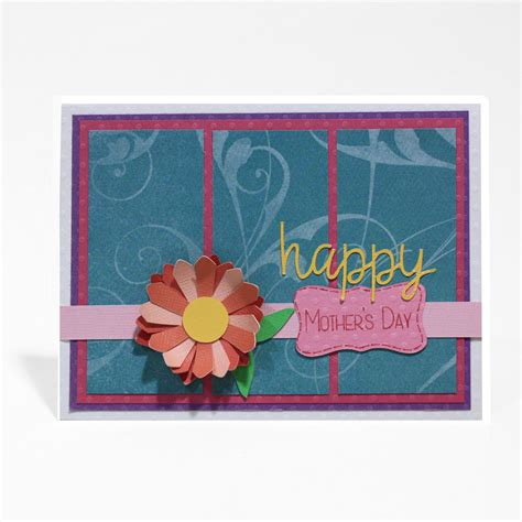 Mother's Day Floral Card  Pazzles Craft Room