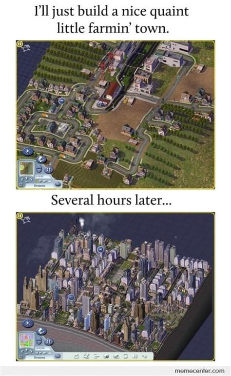 Simcity Meme - le me playing simcity simcity know your meme