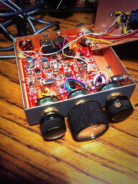 smd40 qrp 1w 40m transceiver my surface mounted kit construction worked about 35 states