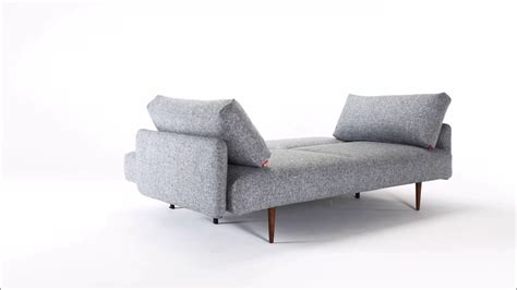 innovation frode sleeper sofa  arms youtube