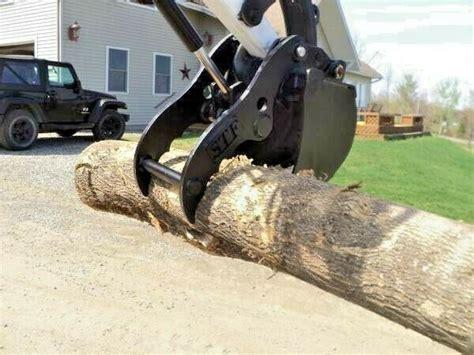 bobcat hydraulic mini excavator thumb pin  grapple clamp claw   ebay