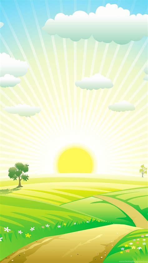 morning vector hd wallpapers desktop background