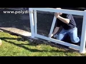 Cloture En Pvc : r alisation cloture pvc youtube ~ Melissatoandfro.com Idées de Décoration