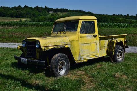 willys jeep pickup  sale jeep pickup   sale  grand chain illinois united