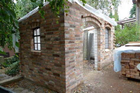 gartenhaus aus mauerziegeln es geht weiter karin naturalstyle