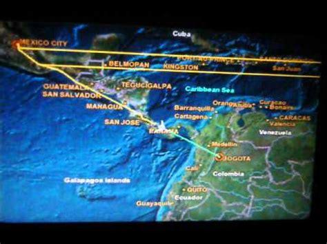 avianca vuelo av ruta mexico bogota youtube