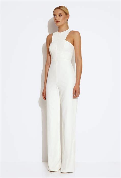 formal white jumpsuit 17 best ideas about white jumpsuit on halter