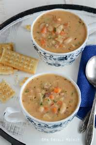 White Bean Chowder Soup