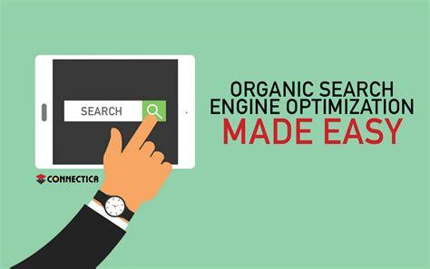 Organic Search Engine Optimisation - is organic search engine optimization really that difficult