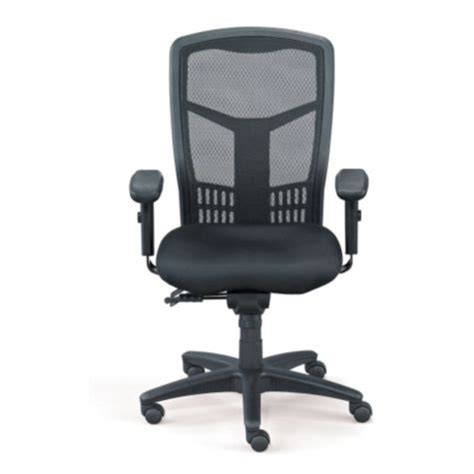 proline progrid hi back mesh chair by officestar