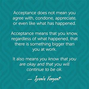 17+ best ideas ... Daily Acceptance Quotes