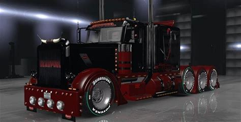 peterbilt  deadpool skin gamesmodsnet fs