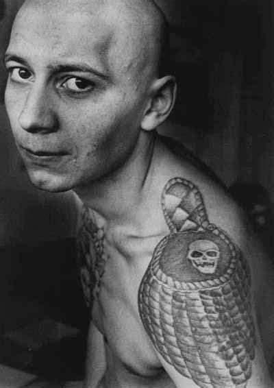 Le «langage Secret» Des Tatouages Russes Slatefr