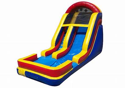 Slide Inflatable Clipart Inflatables Water Cliparts Island