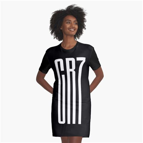 'CR7 Juve Fans' Graphic T-Shirt Dress by elhefe | T shirt ...