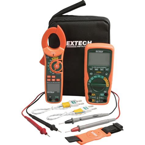 Extech Industrial Dmm Clamp Meter Test Kit