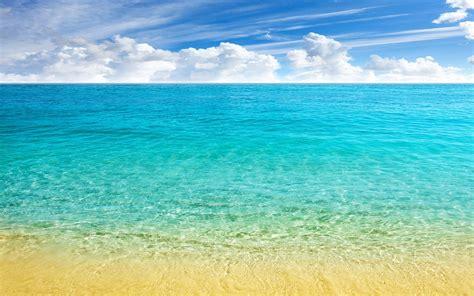 nature landscape sea beach horizon caribbean