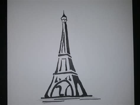 Eiffel Tower Drawings Sketches Wwwpixsharkcom Images