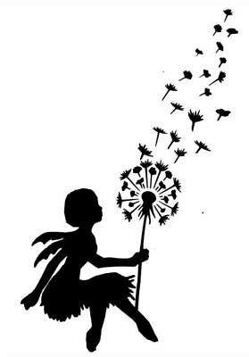 schablone pusteblume wand pusteblume elfe schablone din a4 wand tisch schrank stoff shabby eur 8 50 picclick de