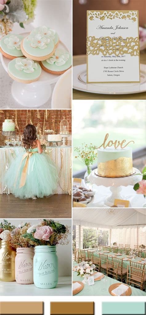 2017 the Best Gold Wedding Colors Combos Trends Stylish