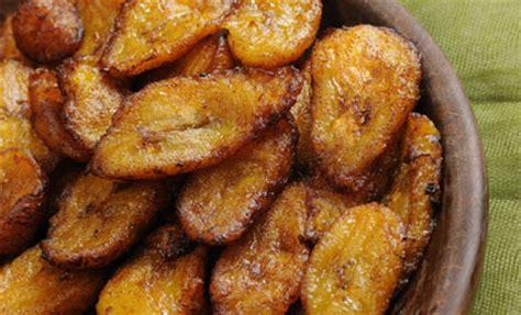 cuisine banane plantain bananes plantain frites pour 4 personnes recettes à