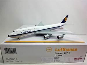 Lufthansa Rechnung Anfordern : herpa 1 200 557221 lufthansa boeing 747 8 intercontinental retro k ln neu ~ Themetempest.com Abrechnung