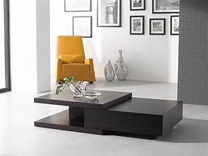 JM Furniture 1751514 HK 19 Modern Coffee Table In Dark Oak
