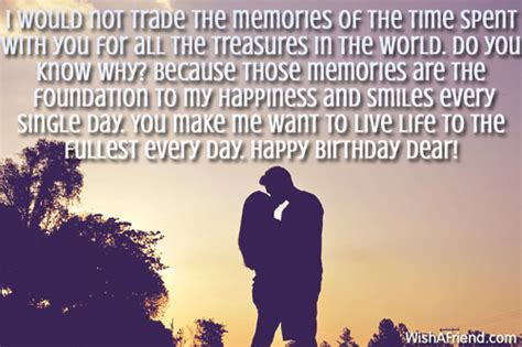 Only the most special individuals get birthday wishes from me. Birthday Wishes For Girlfriend - Page 2