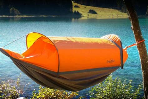 Flying Hammock by Total Coverage Wearable Hammock Is A Tent