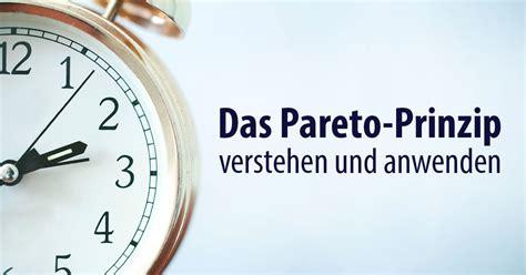 Das Pareto-Prinzip verstehen und anwenden | Alex Fischer Düsseldorf