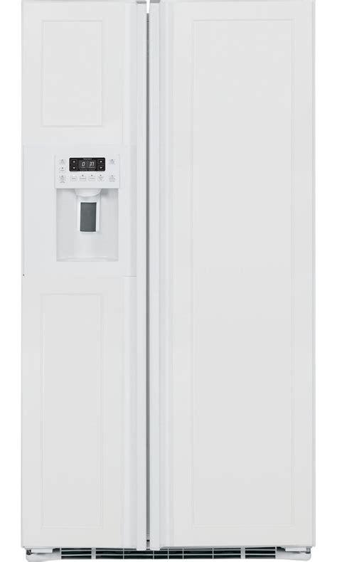 panel ready refrigerator ge profile pzs23kpewv 23 3 cu ft counter depth side by side refrigerator panel ready