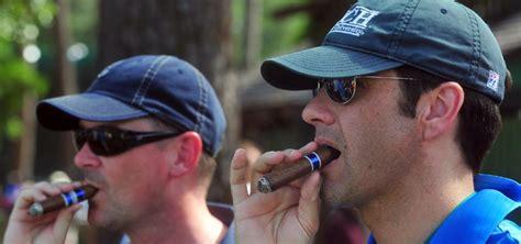 Cigar smoking at Masters still in fashion, but less so ...