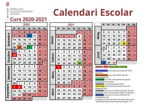 calendari escolar curs   cifp  marines
