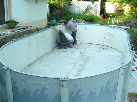 piscine hors sol acier enterree piscine hors sol acier