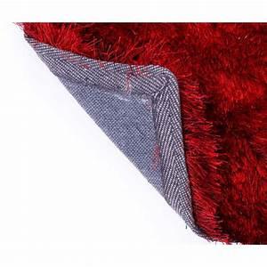 Tapis A Poils Long : tapis shaggy rouge poil long 120x170 cm tap06056 d coshop26 ~ Teatrodelosmanantiales.com Idées de Décoration