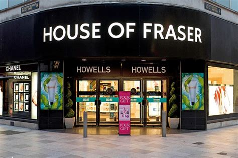 House Of Fraser Plots A Selloff Of Failing Stores This
