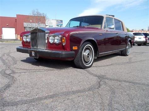1979 Rolls Royce Silver Wraith Ii by 1979 Rolls Royce Silver Wraith Ii For Sale Rolls Royce