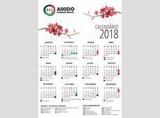 Calendário Aikido Paraná Brasil 2018 Aikido Paraná Brasil